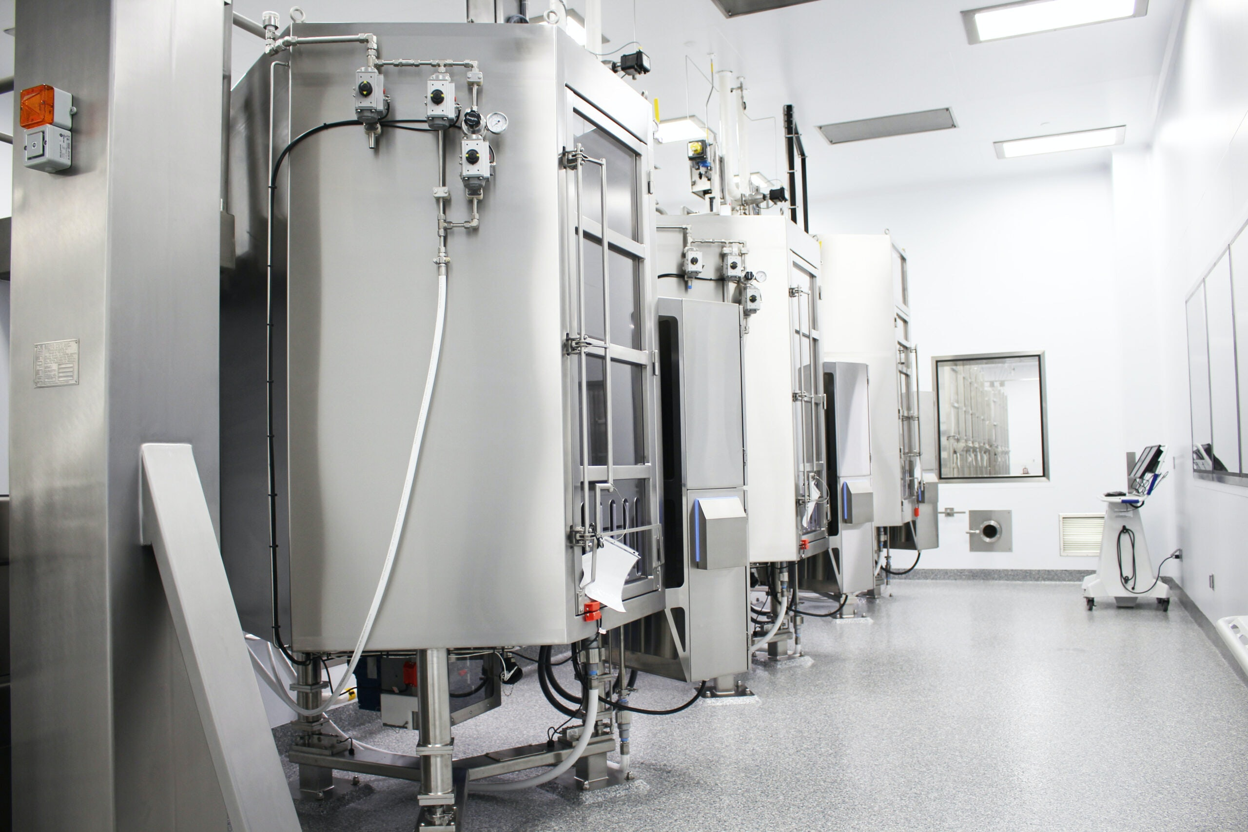 Bristol Myers Squibb – cGMP Biologics Manufacturing Facility