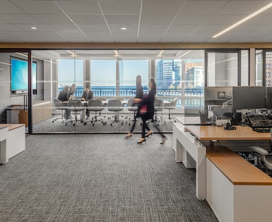 Global Financial Services Firm – Multifloor Fitout