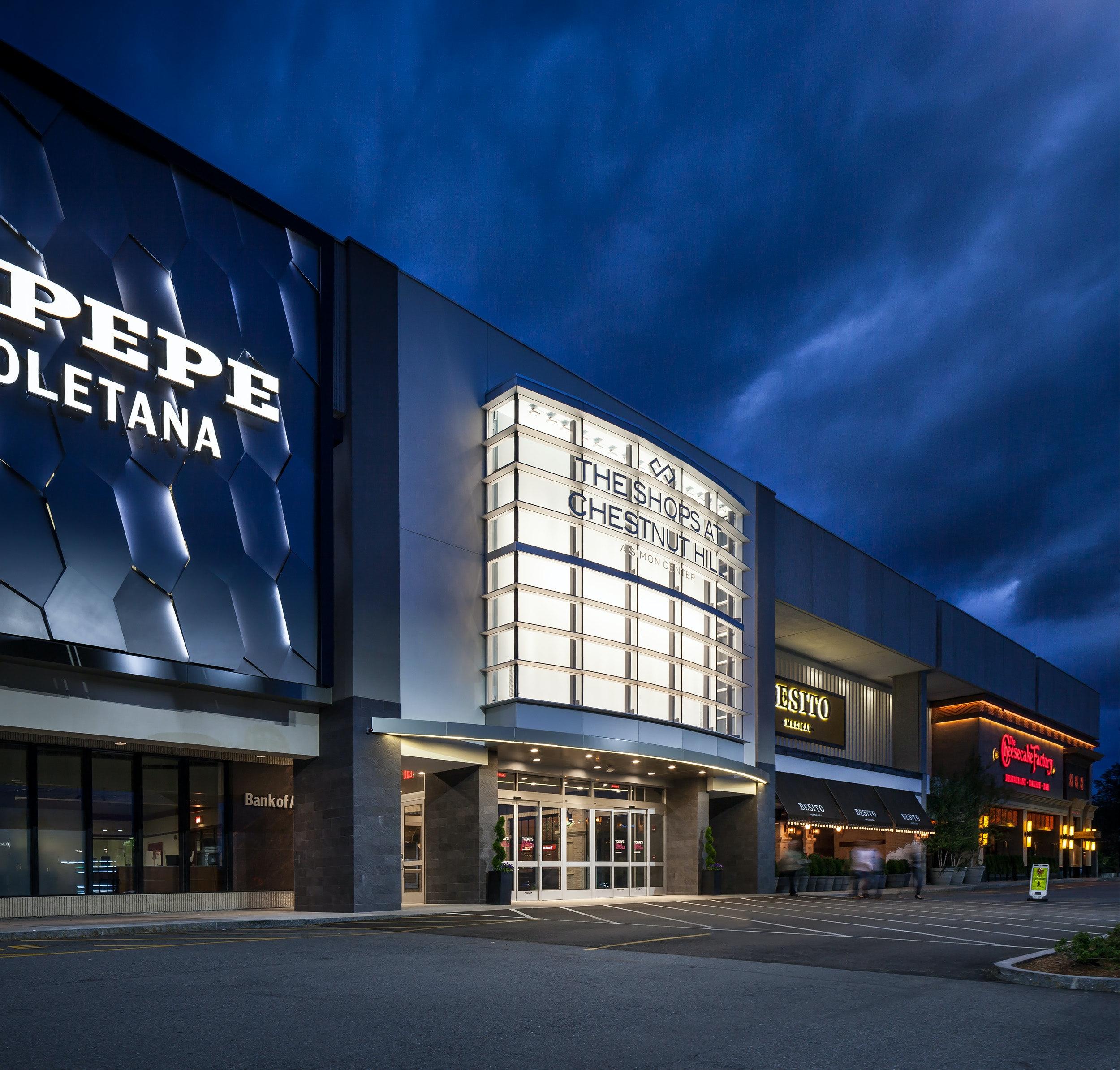 Chestnut Hill Mall – South Entrance Façade