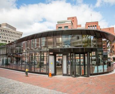 Faneuil Hall Marketplace – Glass Retail Pavilion