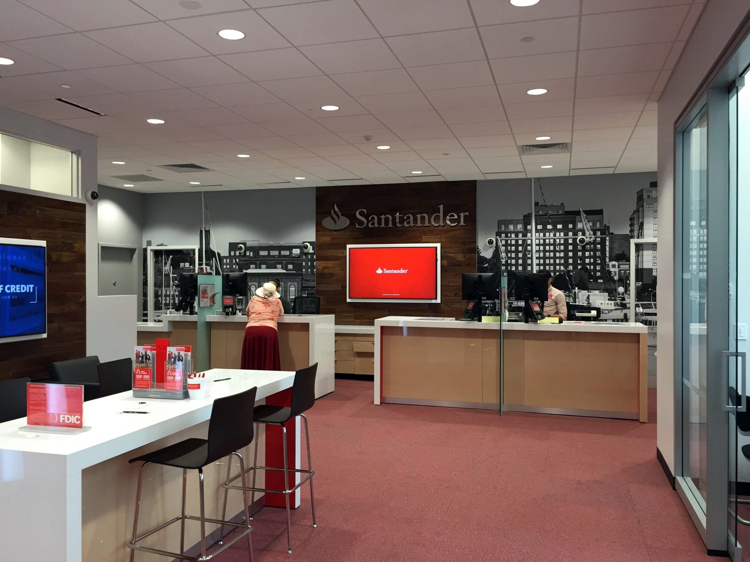 Santander – Branch Renovations