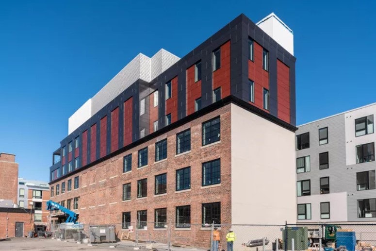 With 'Really Remarkable' Speed, Mass Timber Construction Has Caught On In Boston