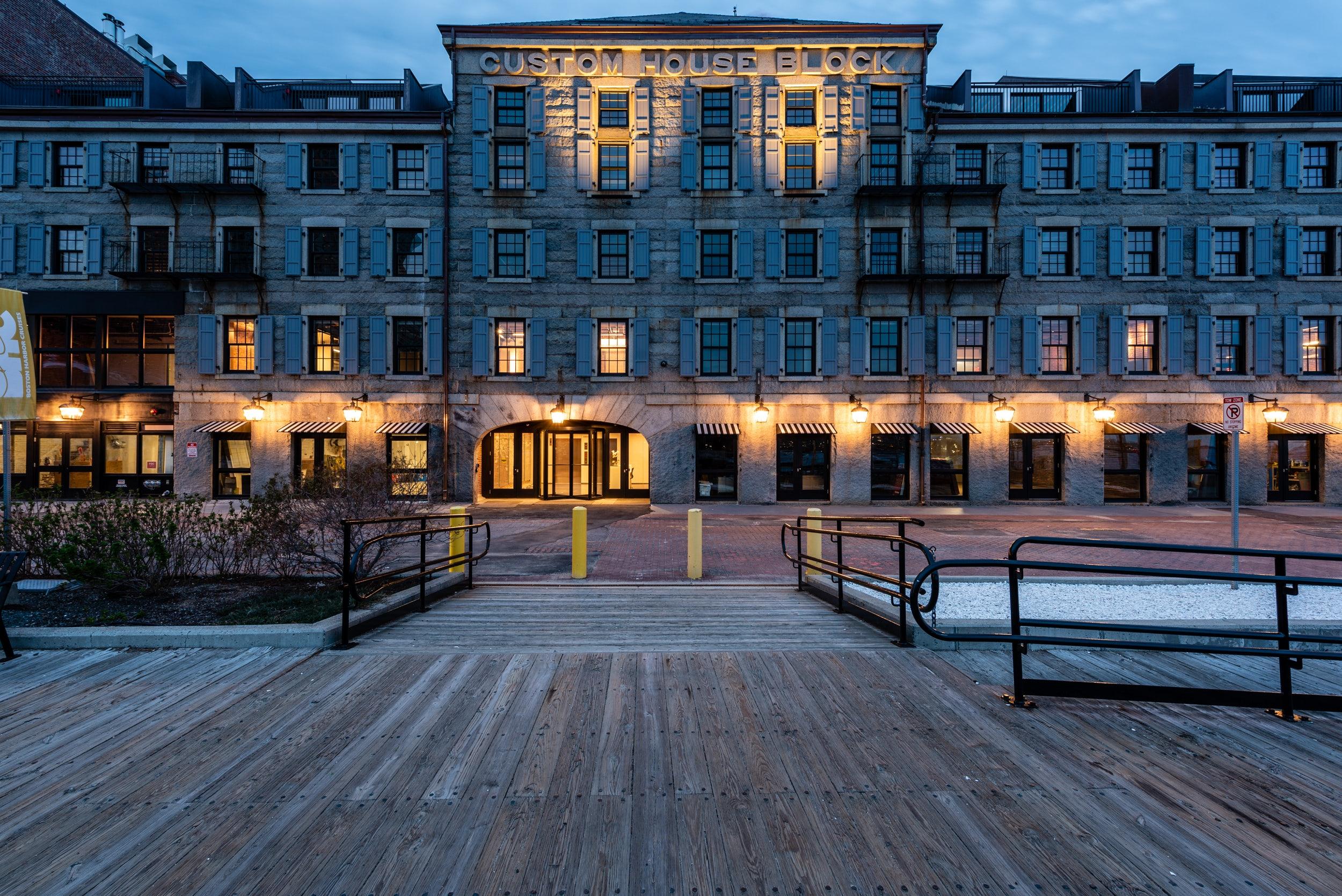 Long Wharf Custom House Completes Renovation