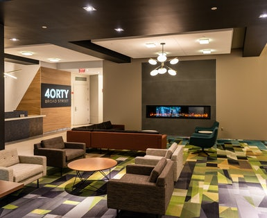 Lincoln Property Company – 40 Broad Street Lobby & Conferencing Center