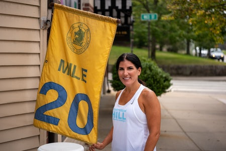 Running the Boston Marathon with Denise